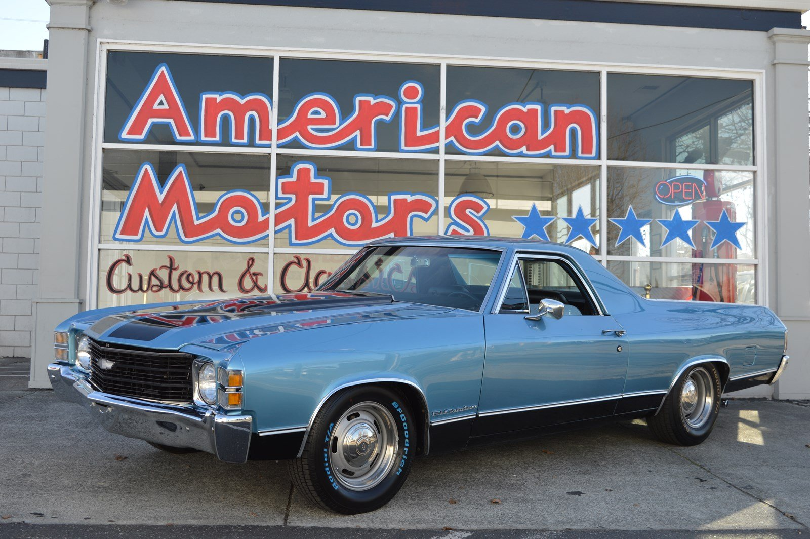Pre-Owned 1971 Chevrolet El Camino Beautiful Restoration & Ice Cold AC