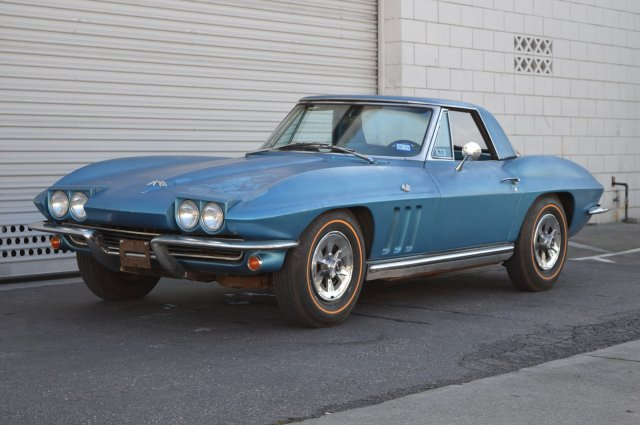 Pre-Owned 1965 Chevrolet Corvette Highly Original NCRS Second Flight Award