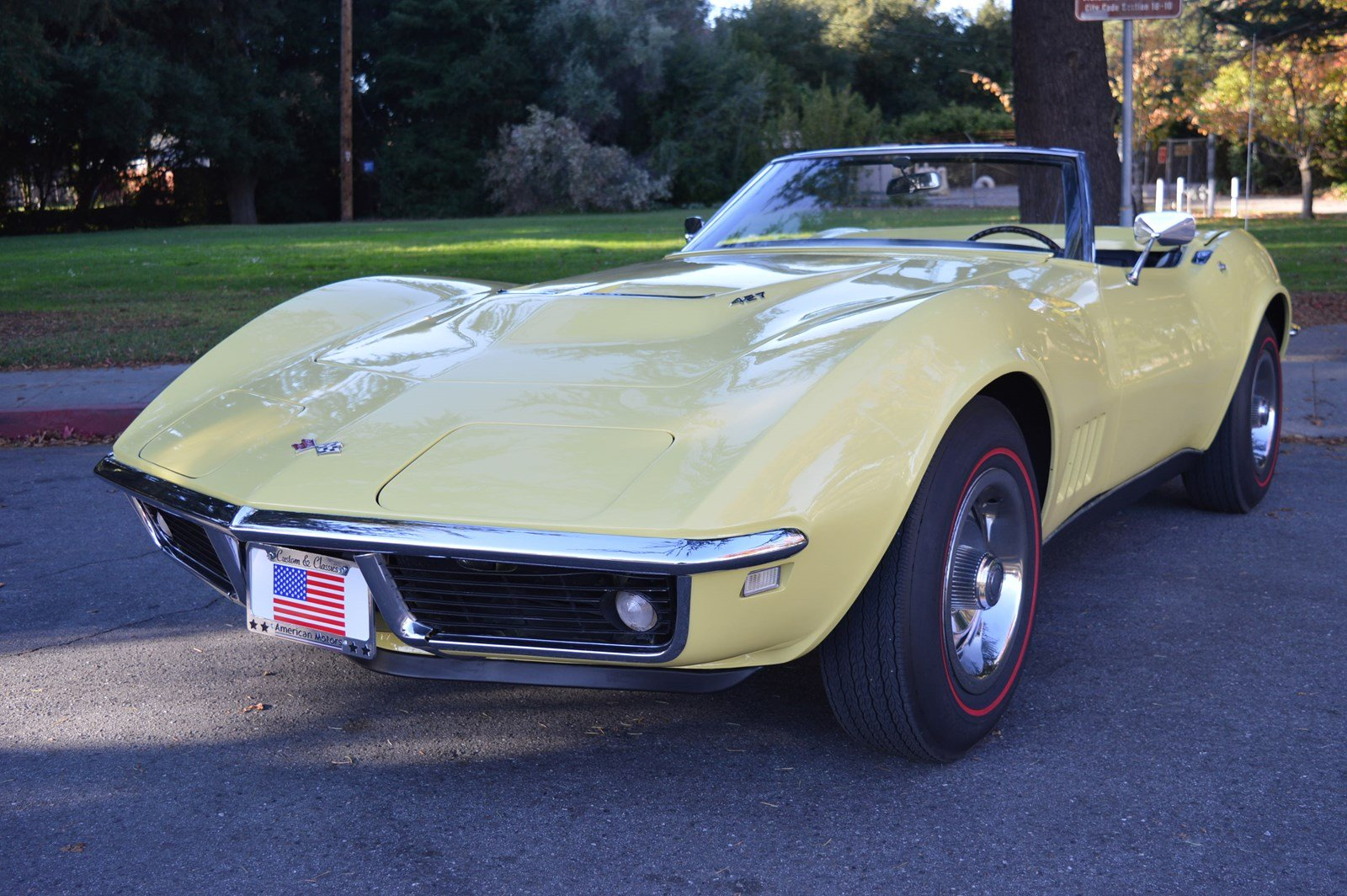 Stevens Creek Chevrolet >> Pre Owned 1968 Chevrolet Corvette Big Block 427 Convertible Safari