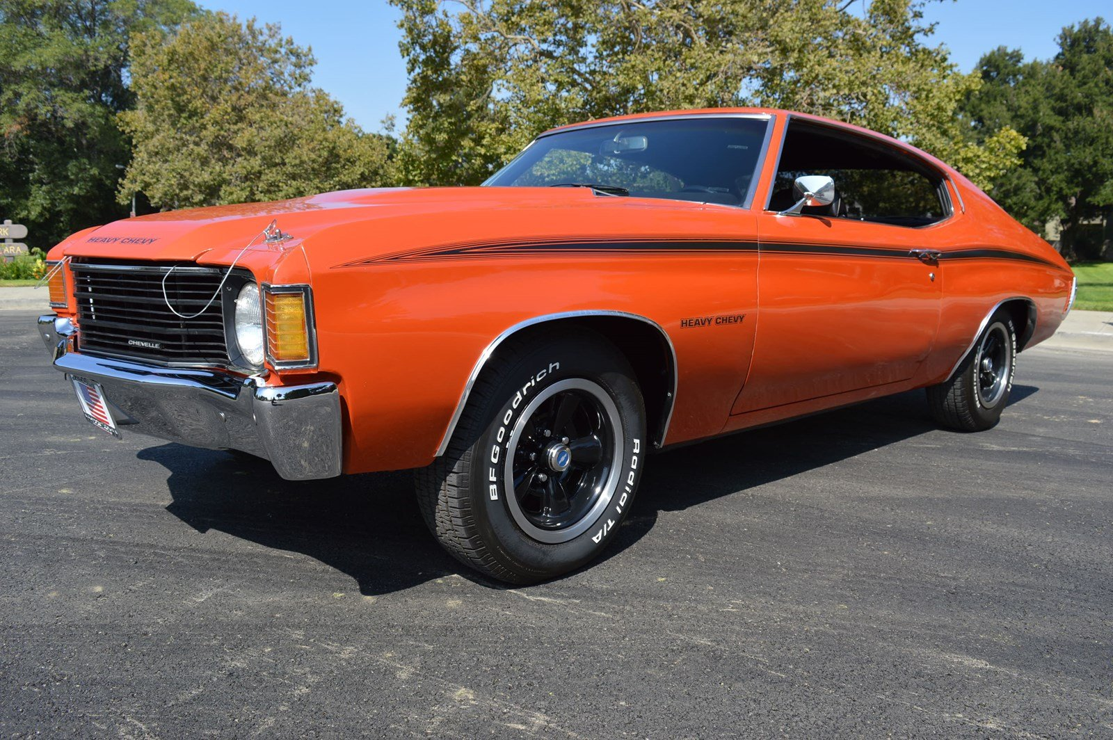 Stevens Creek Chevrolet >> Pre Owned 1972 Chevrolet Chevelle Gorgeous Restoration Inside And