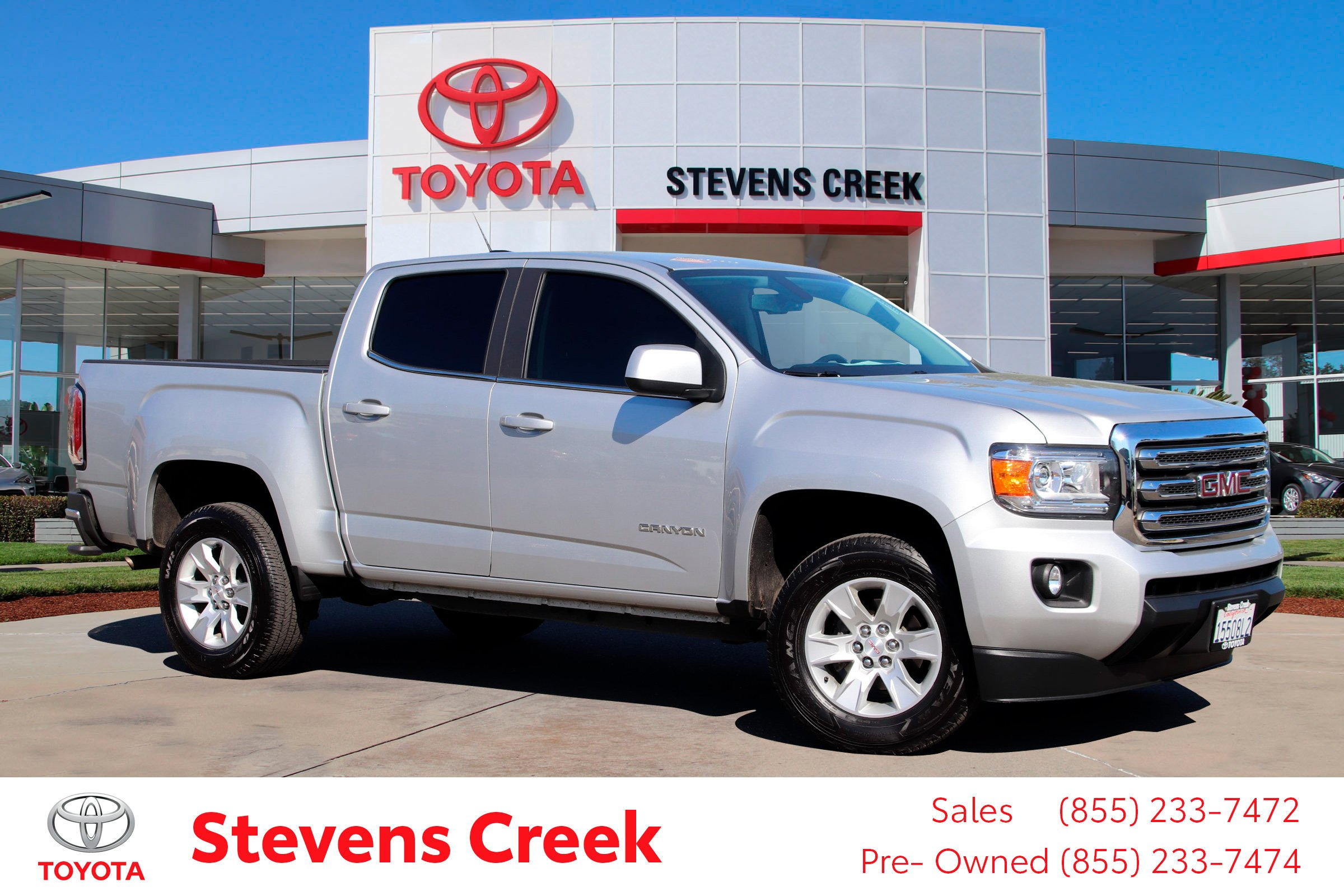 Pre-Owned 2018 GMC Canyon 2WD SLE