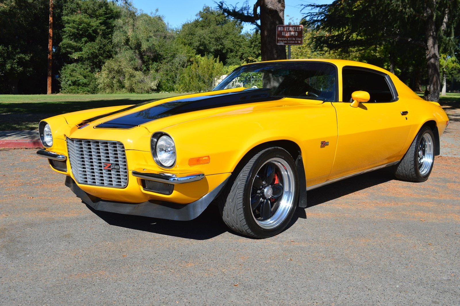 Camaro Z28 2019 >> Pre-Owned 1973 Chevrolet Camaro Z28 LT-1, Tremec, 4 Wheel Disc Ultimate Biold in San Jose # ...