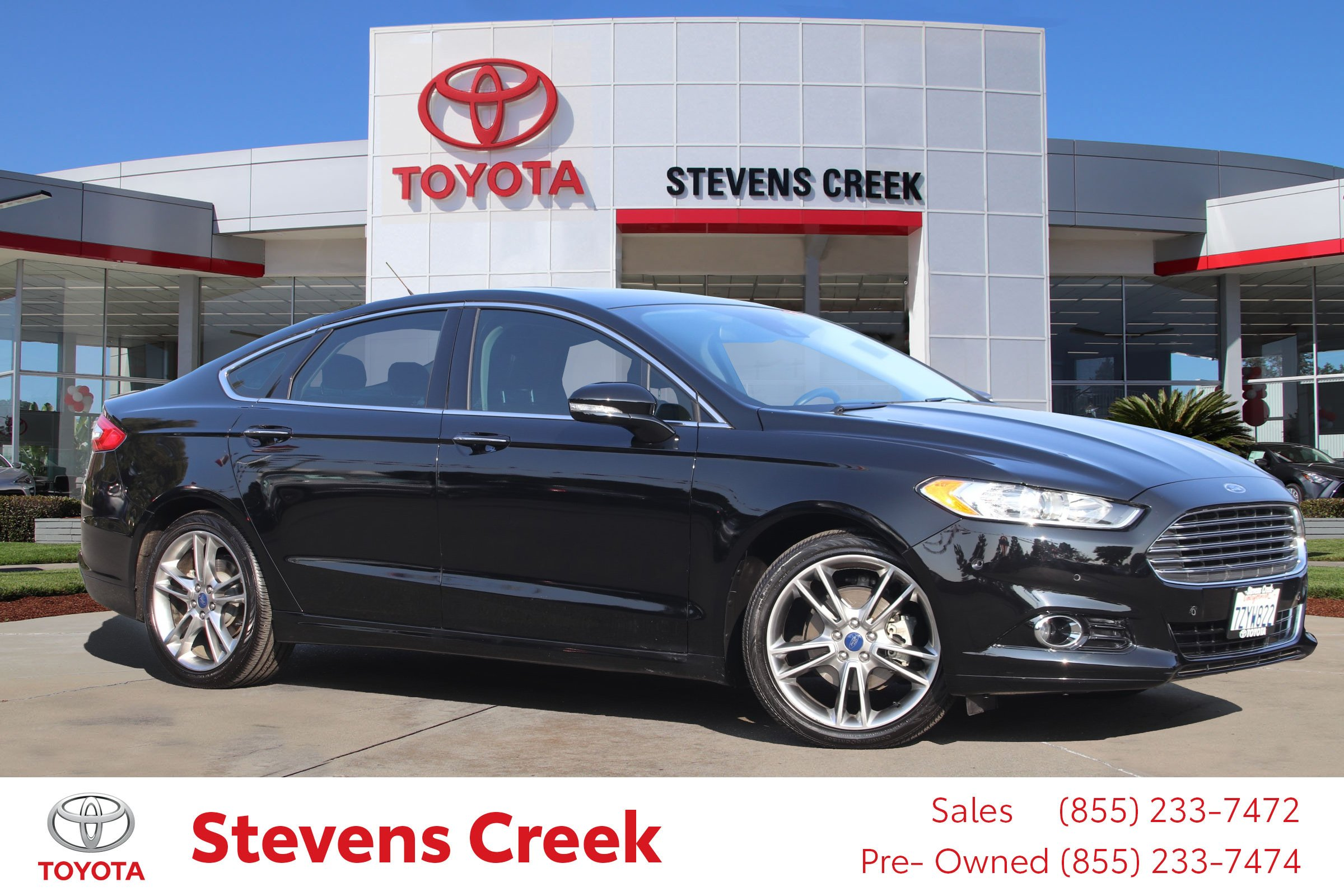 Pre Owned 2016 Ford Fusion Titanium 4dr Car in San Jose RR6433