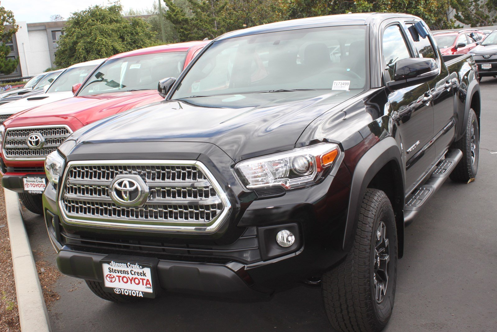 New 2017 Toyota Tacoma TRD Off Road Double Cab in San Jose ...