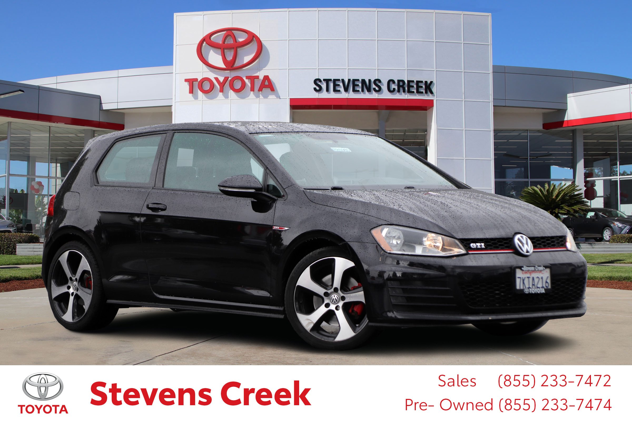 Pre-Owned 2015 Volkswagen Golf GTI S Hatchback Coupe