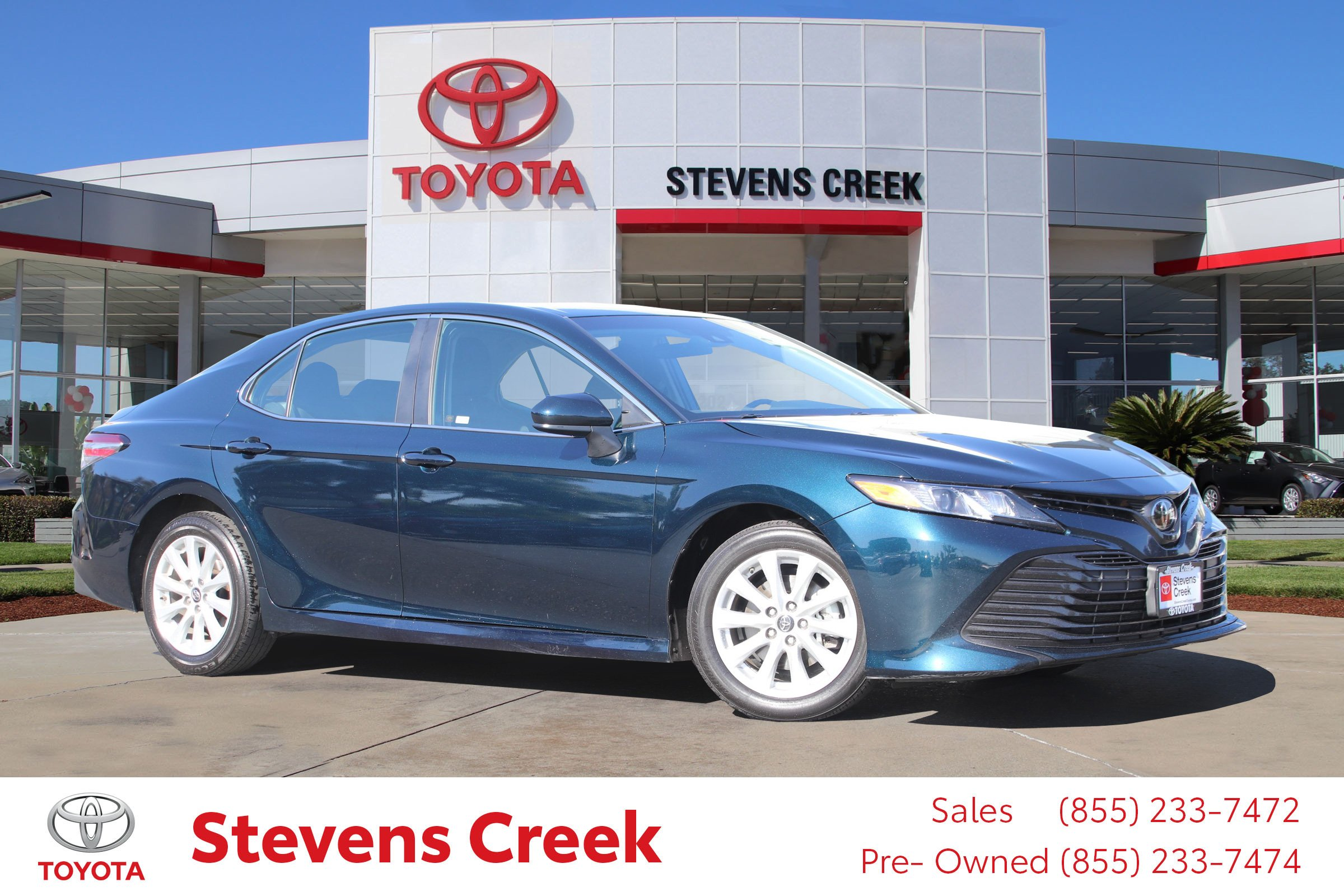 Certified Pre-Owned 2018 Toyota Camry Le Sedan