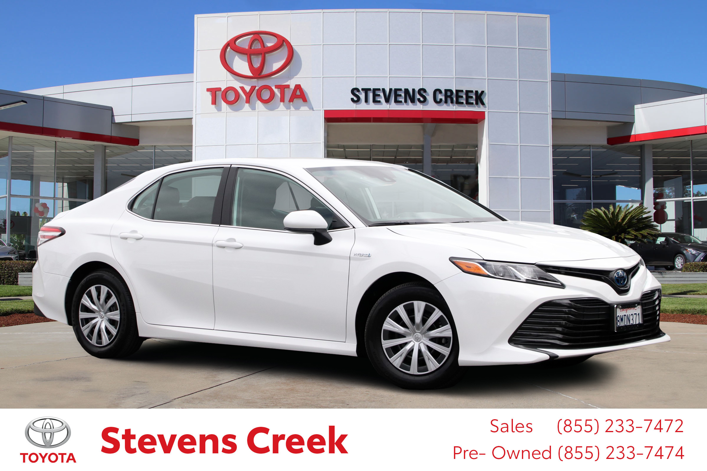 Certified Pre-Owned 2020 Toyota Camry Hybrid