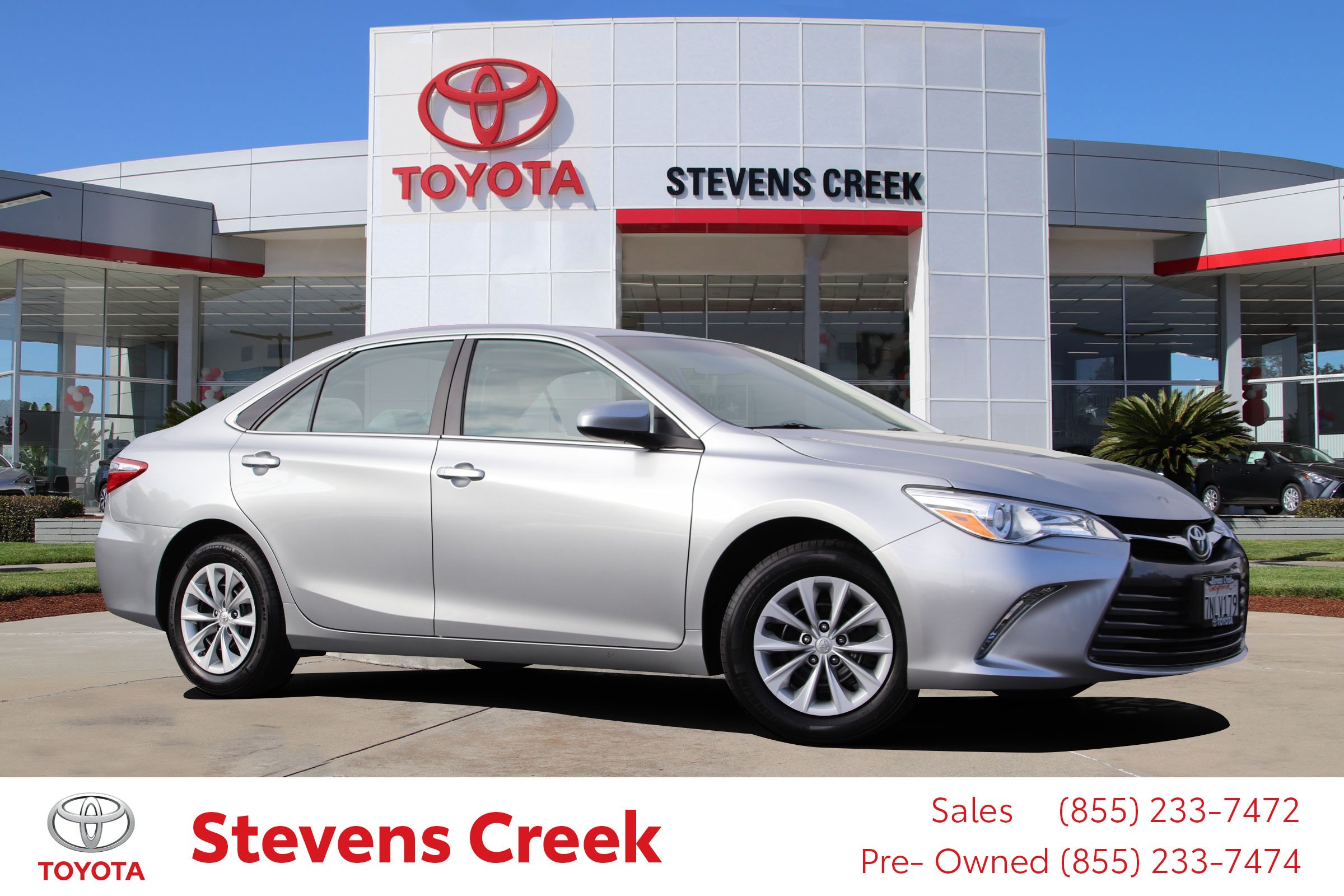 Certified Pre Owned 2016 Toyota Camry LE 4dr Car in San Jose CT5646
