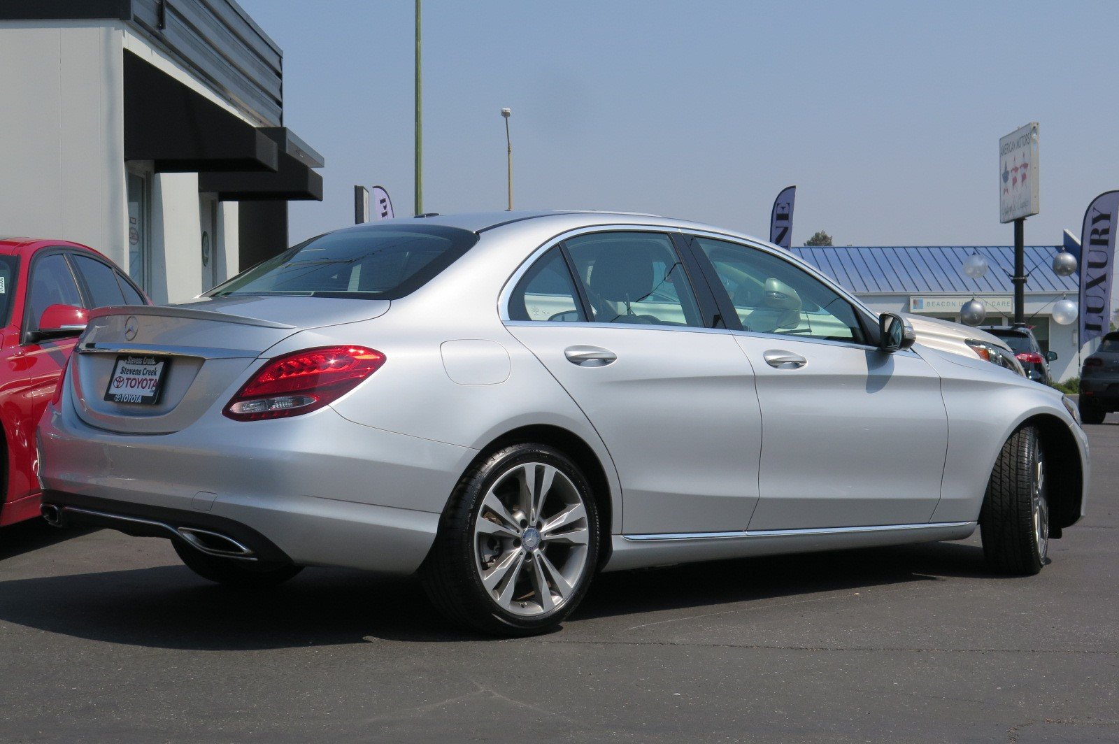 Captivating Pre Owned 2015 Mercedes Benz C Class C 300