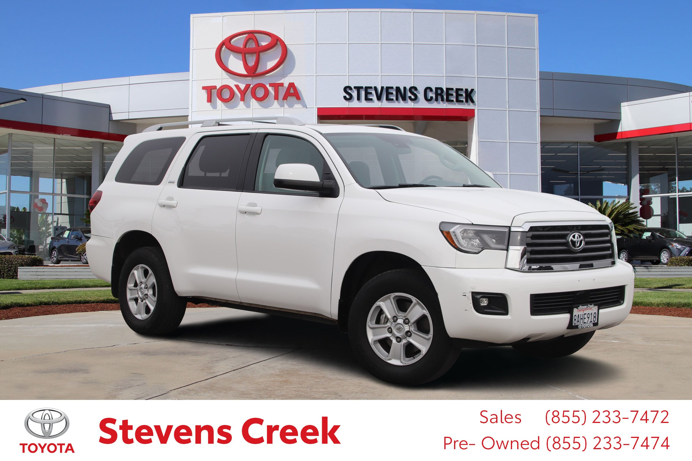 Certified Pre-Owned 2018 Toyota Sequoia Sr5 Sport Utility