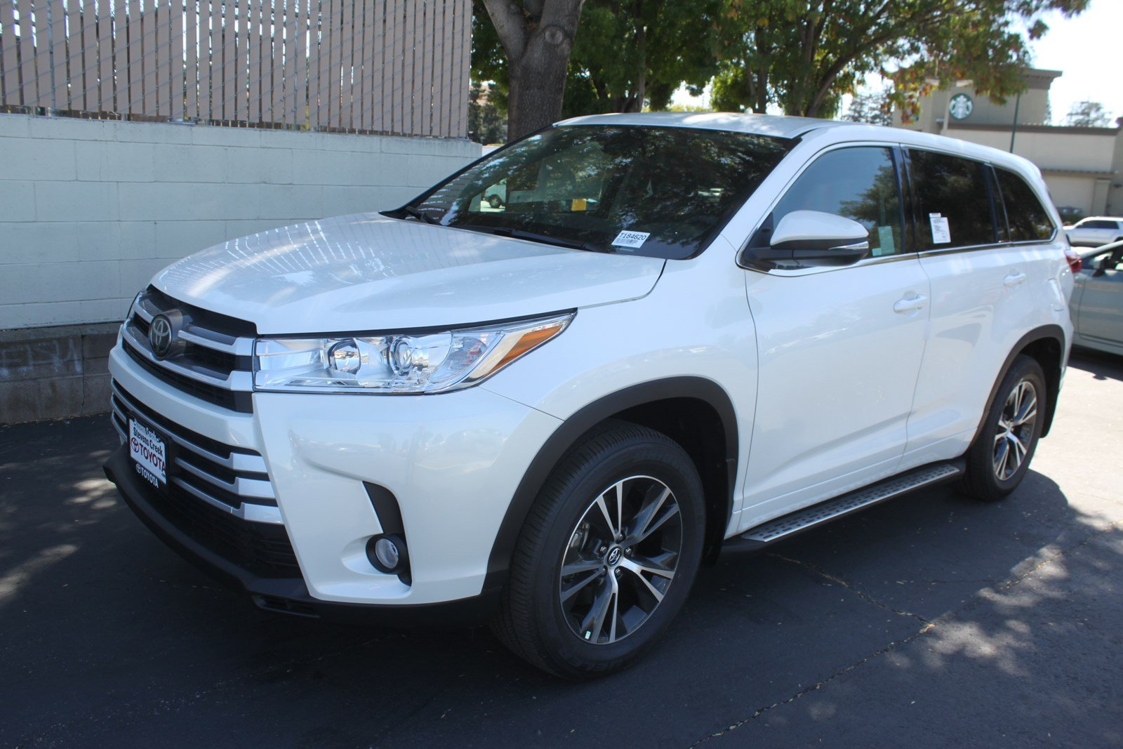 New 2018 Toyota Highlander Le Plus Sport Utility In San