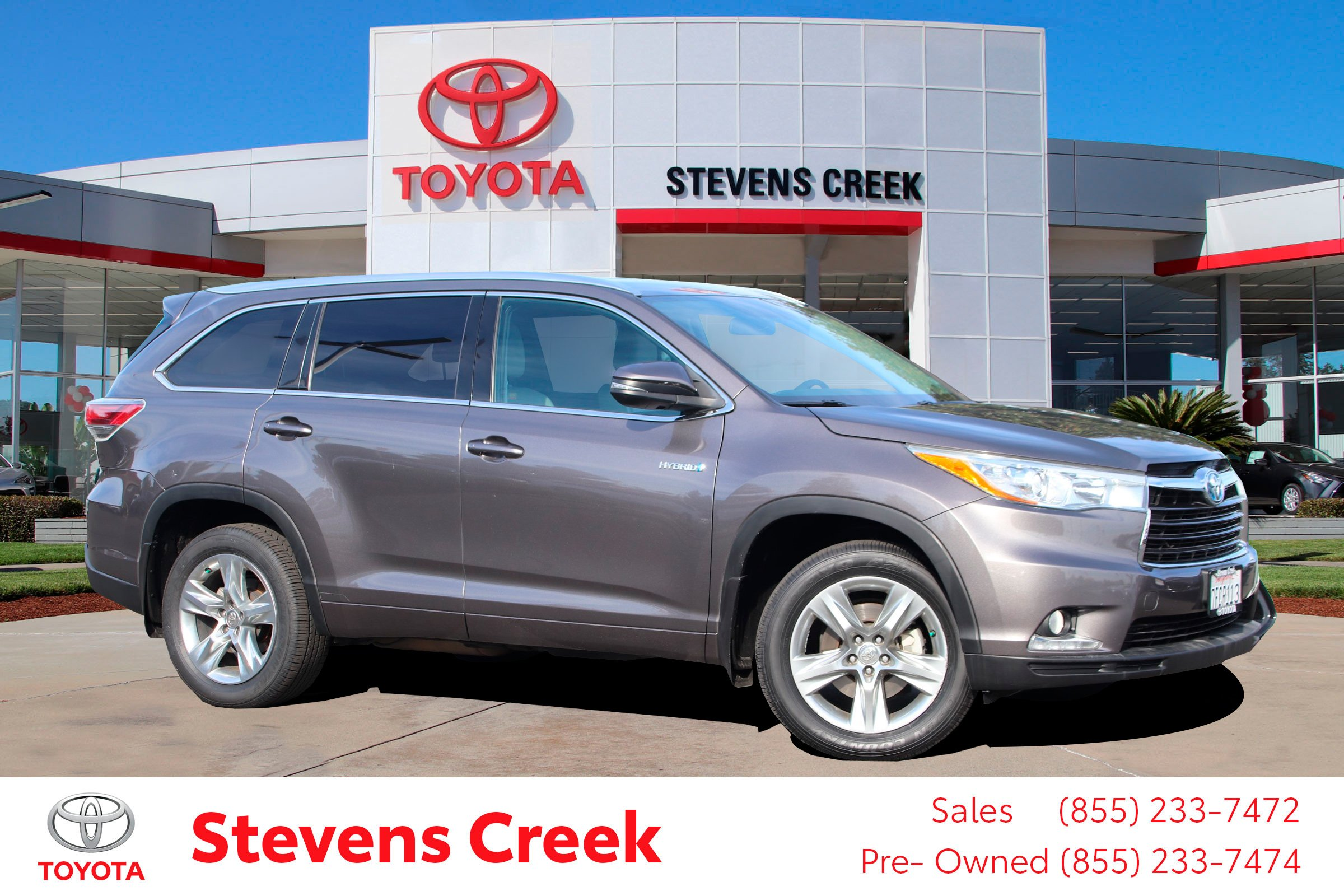Certified Pre-Owned 2014 Toyota Highlander Hybrid STD