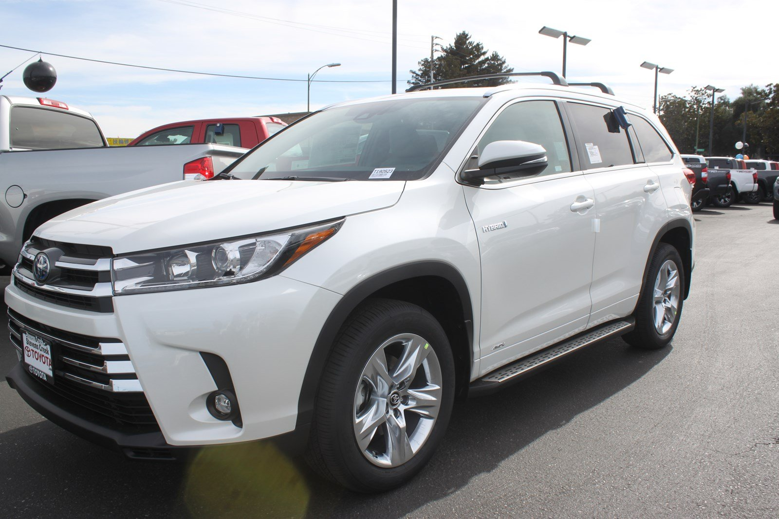 New 2019 Toyota Highlander Hybrid Limited Sport Utility In San Jose