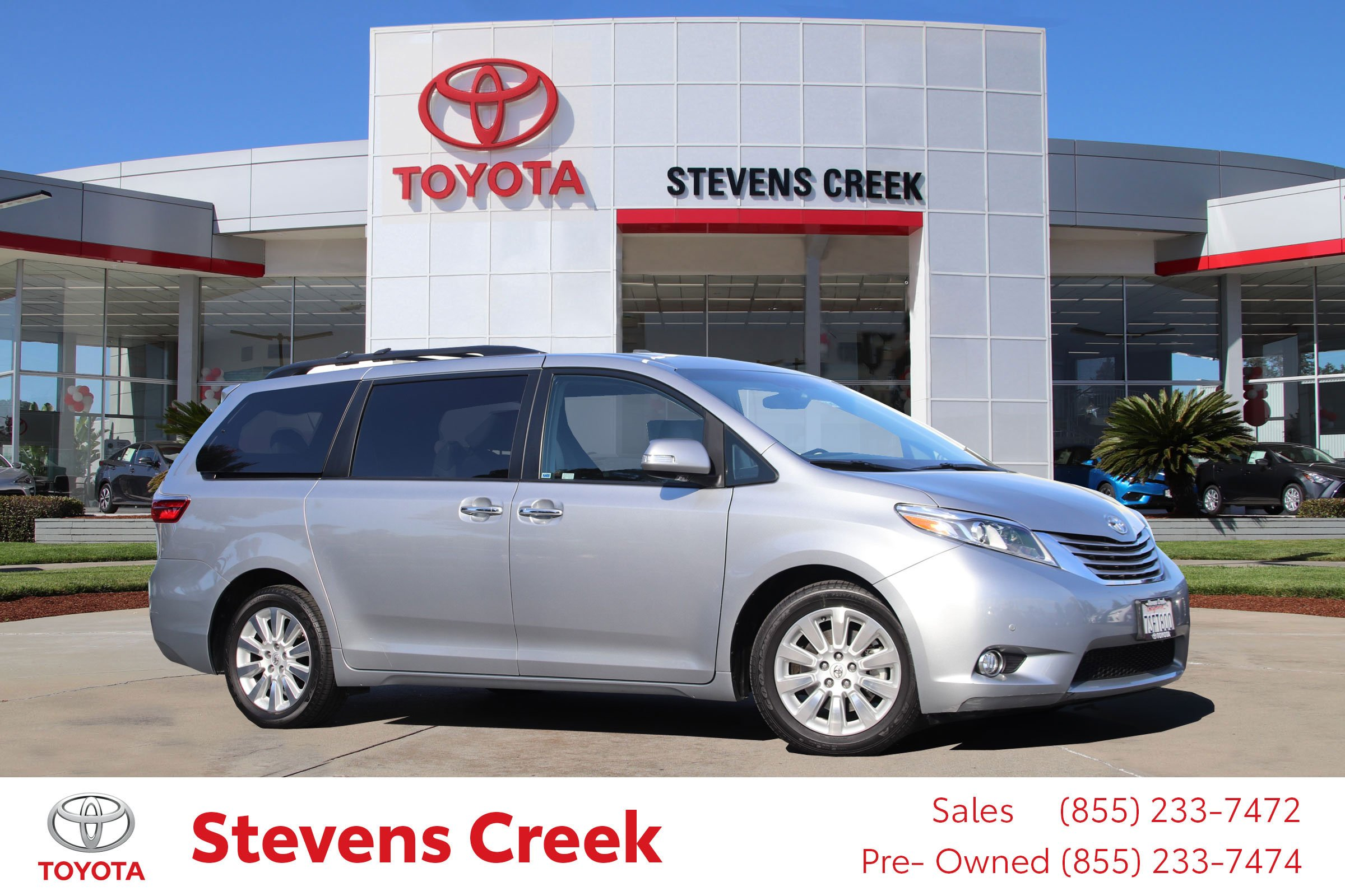 Certified Pre-Owned 2015 Toyota Sienna LTD