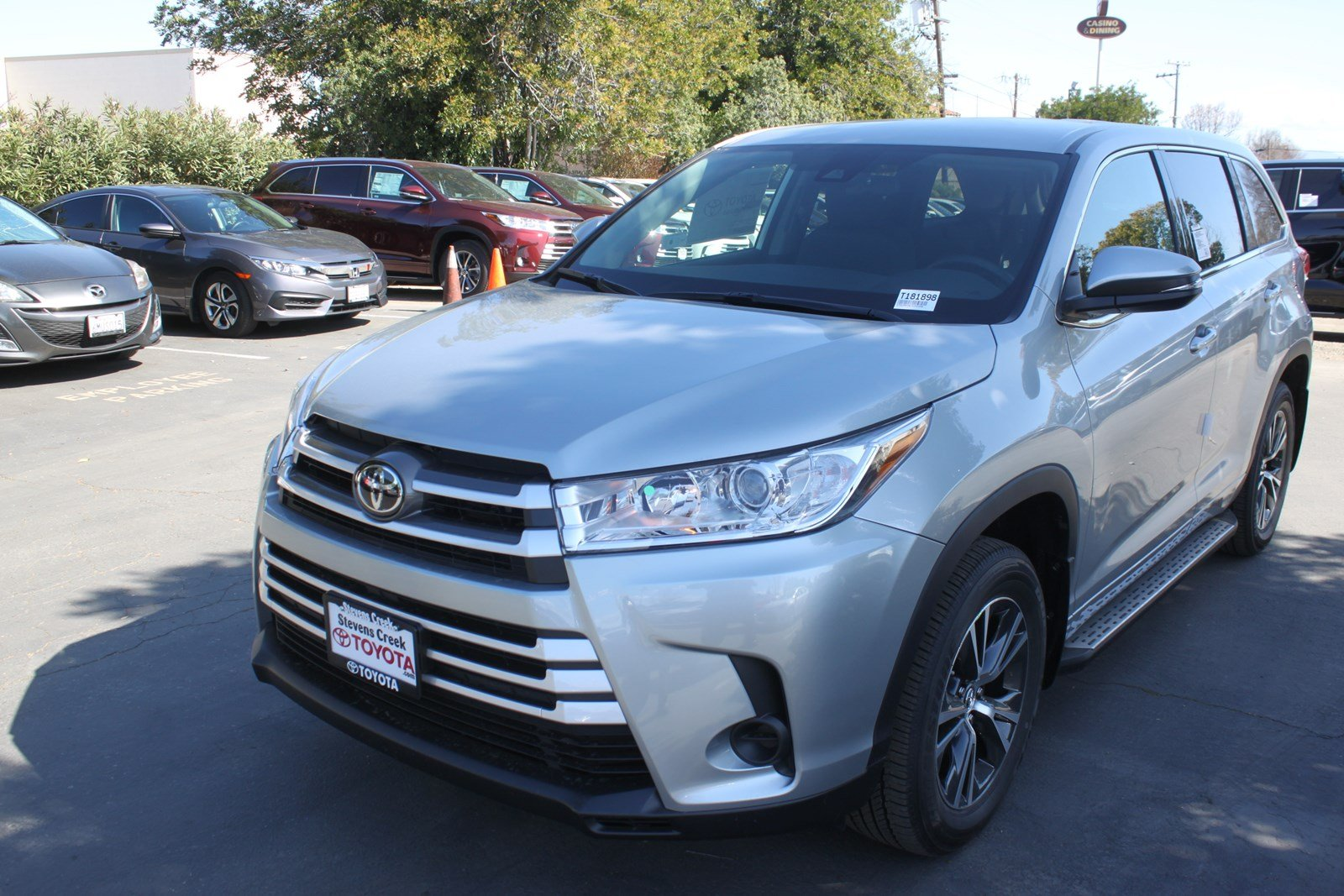 New 2018 Toyota Highlander LE Sport Utility in San Jose T