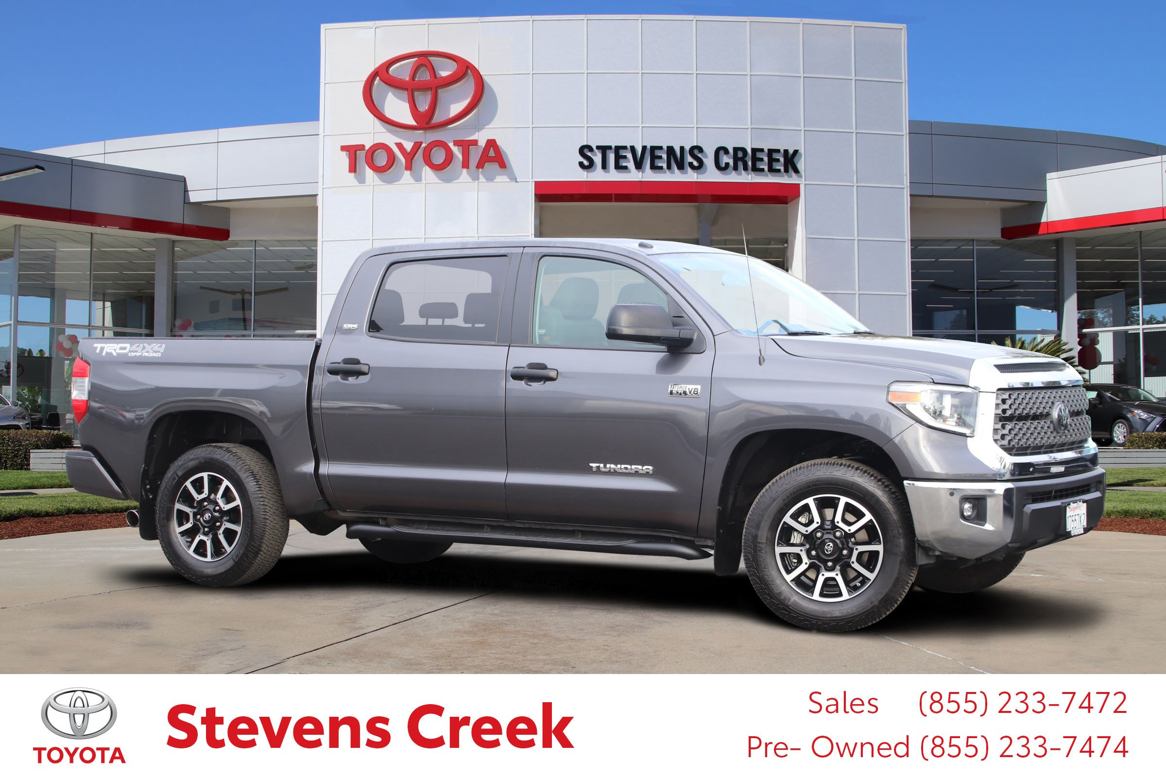 Certified Pre-Owned 2018 Toyota Tundra 4WD Sr5 Pickup 5 1/2 Ft