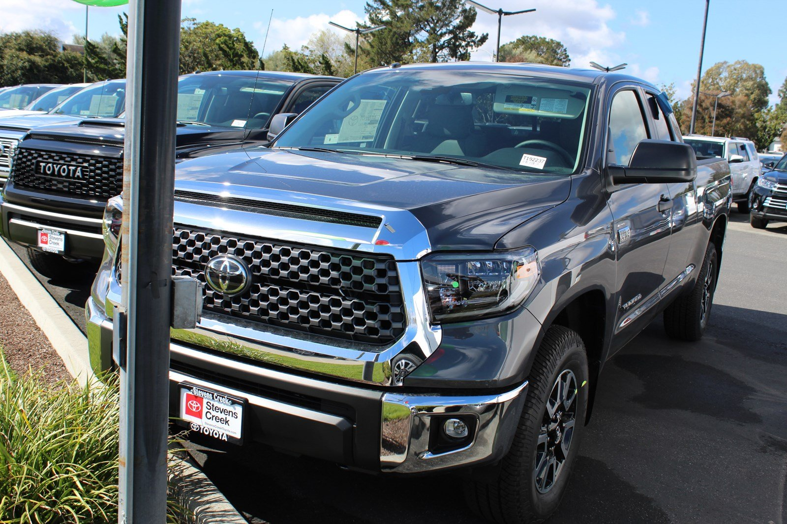 Toyota Stevens Creek >> New 2019 Toyota Tundra Sr5 Double Cab In San Jose T192237 Stevens