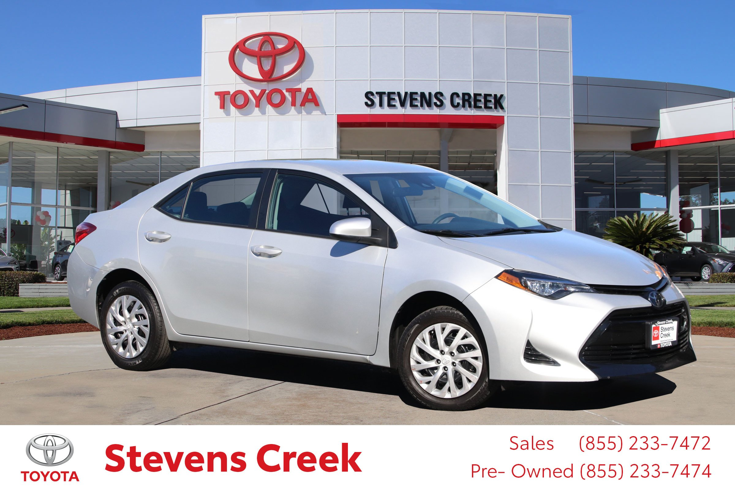 Pre-Owned 2019 Toyota Corolla Le Sedan