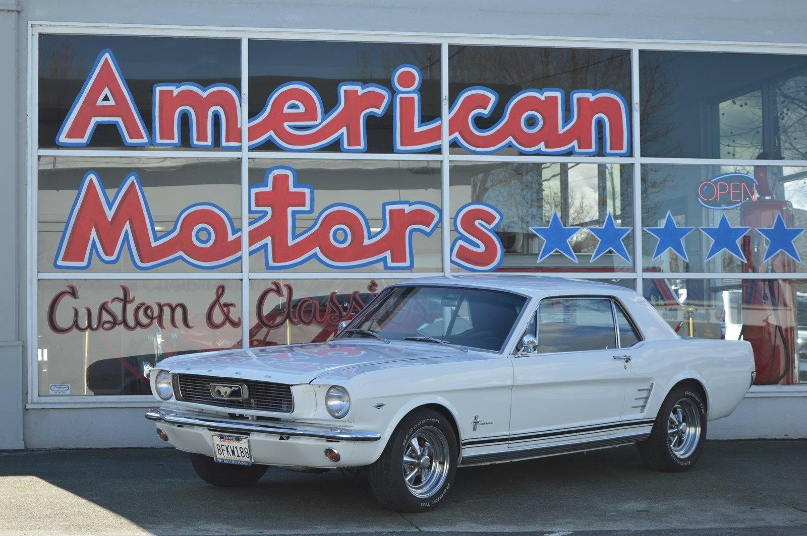 Pre owned 1966 ford mustang c code 289 restored great condition runs excellent in san jose am4213 stevens creek toyota
