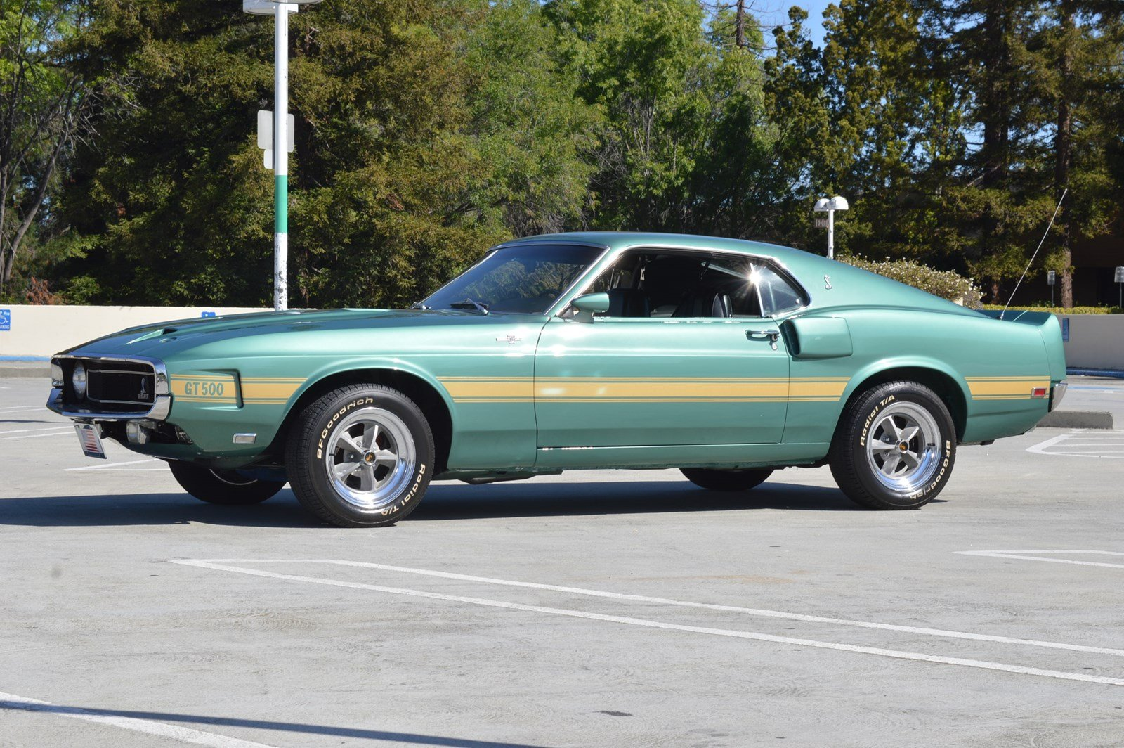 Ford Stevens Creek >> Pre-Owned 1969 Ford Shelby GT500 Fastback 500th GT500 Made Serial #500 Fastback in San Jose # ...