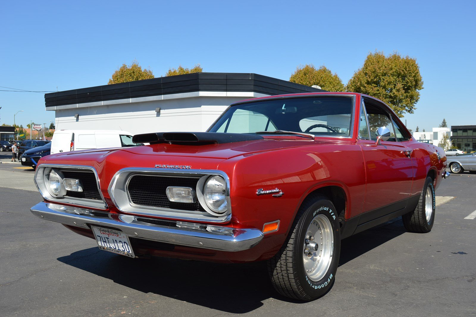 Pre-Owned 1969 Plymouth Barracuda Numbers Matching Gorgeous Muscle ...