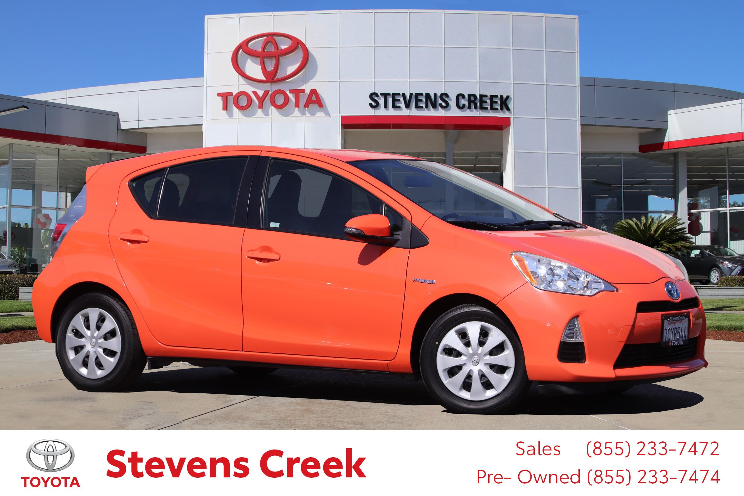 Pre-Owned 2013 Toyota Prius c One Hatchback