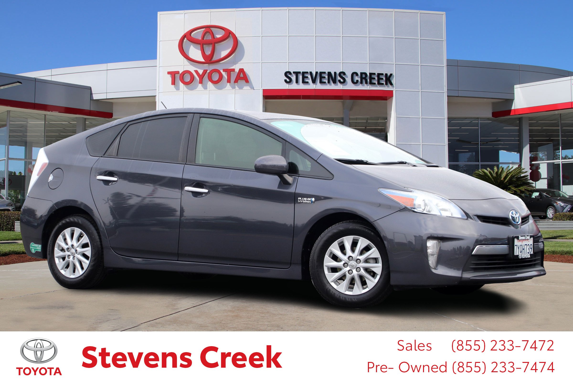 Certified Pre-Owned 2014 Toyota Prius Plug-in STD