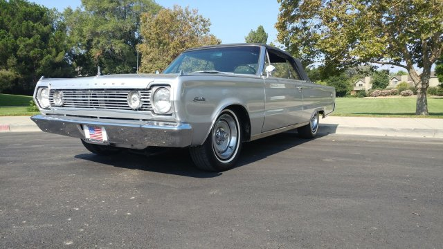 Pre-Owned 1966 Plymouth Satellite Big Block 4 Speed Convertible