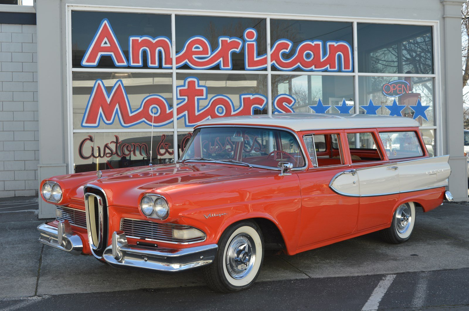 Pre-Owned 1958 Edsel Villager Wagon Beautiful Restoration, Gorgeous Time Capsule