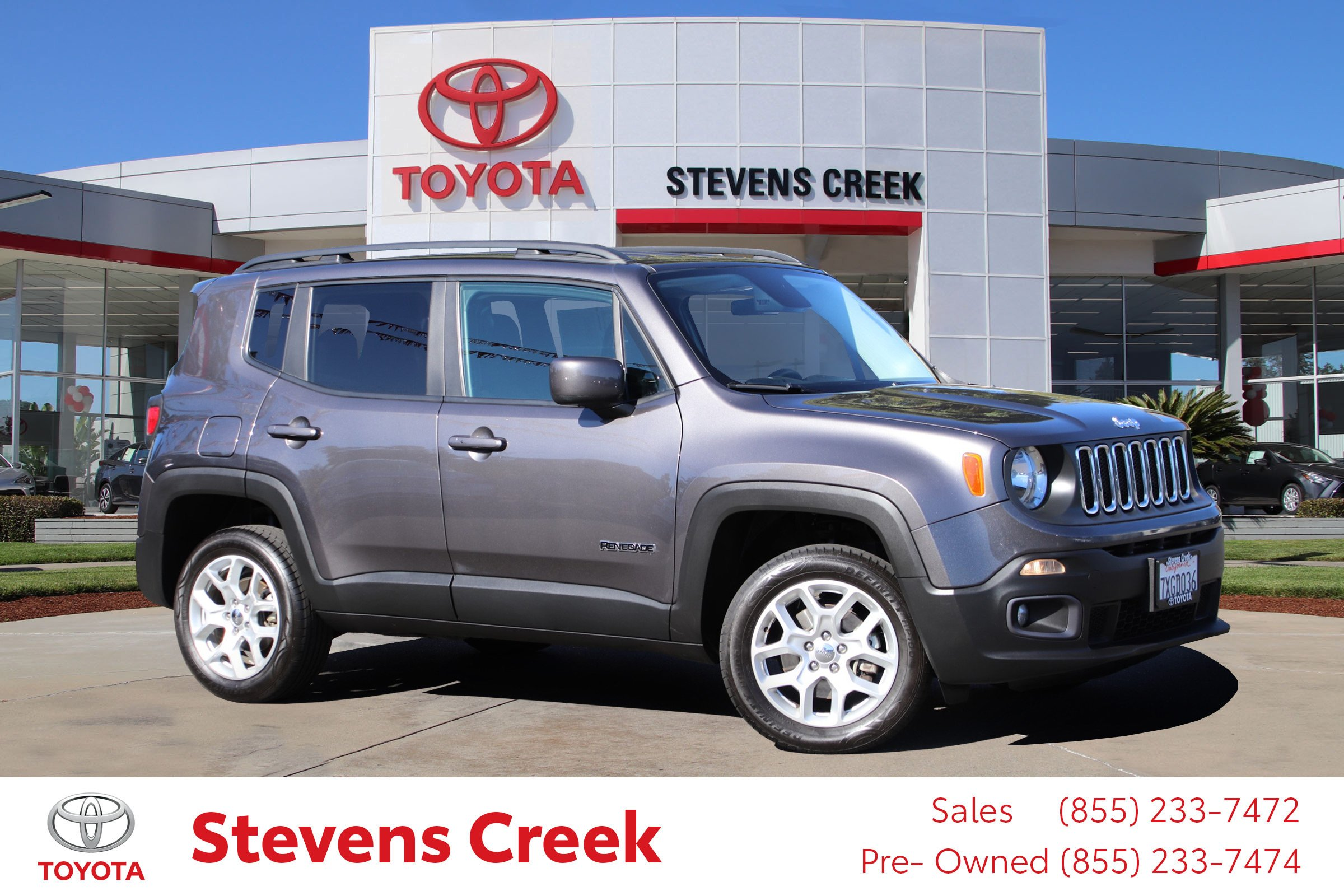Pre Owned 2017 Jeep Renegade Latitude Sport Utility in San Jose