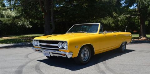 Pre-Owned 1965 Chevrolet Chevelle Malibu Convertible Big Block 396 4 Speed