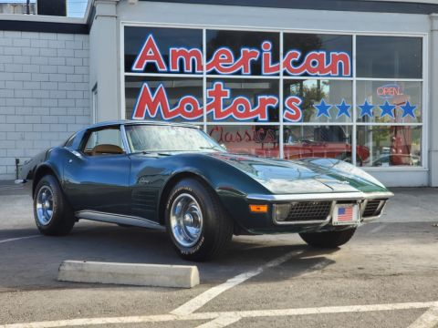 Pre-Owned 1971 Chevrolet Corvette T Top 4 Speed Numbers Matching Gorgeous Example