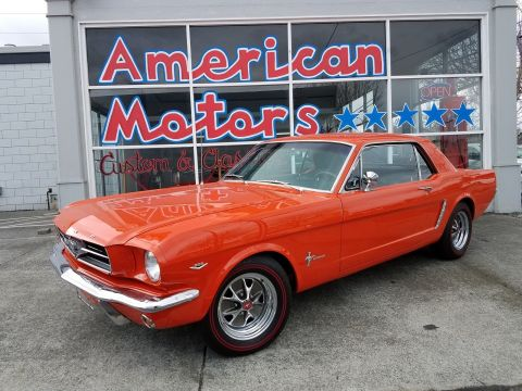 Pre-Owned 1965 Ford Mustang Code 3 Poppy Red 289 V8 Beautiful Restoration Window Sticker