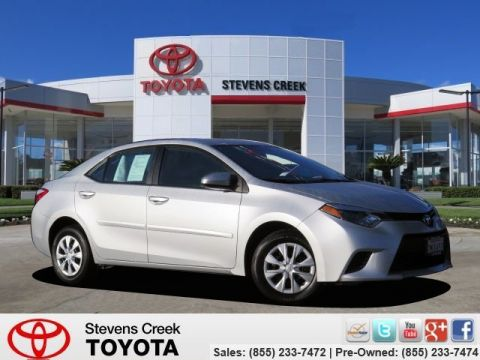 Certified Pre-Owned 2015 Toyota Corolla L Sedan