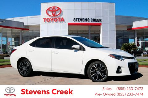 Marvelous Pre Owned 2015 Toyota Corolla S Plus Sedan