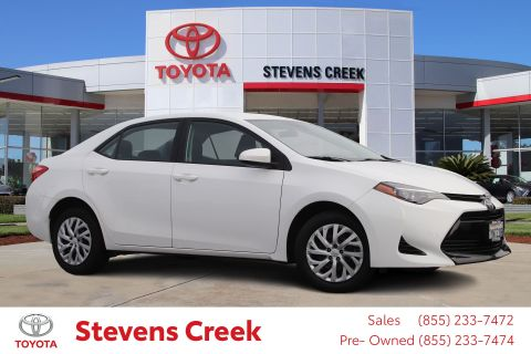 Certified Pre-Owned 2017 Toyota Corolla Le Sedan