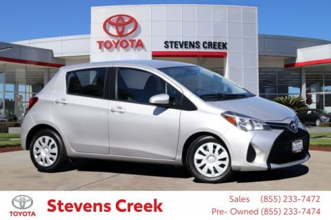 Certified Pre-Owned 2017 Toyota Yaris STD